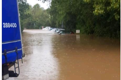 Stoney Stanton Flooding - October 2019